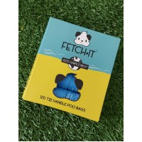 Fetch-It Tie Handle Compostable Poo Bags