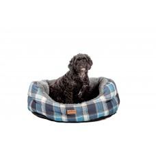 Fat Face Fleece Check Deluxe Slumber Dog Bed