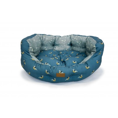 Fat Face Flying Birds Deluxe Slumber Bed