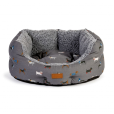 Fat Face Marching Dogs Deluxe Slumber Dog Bed