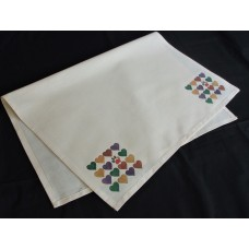 Hearts Tea Towel