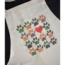 Pawprints Apron
