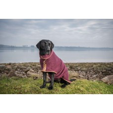 Ruff & Tumble Country Drying Coat in Burgundy