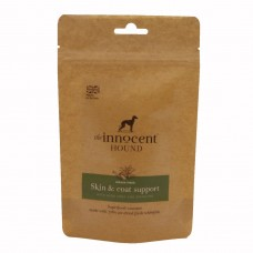 The Innocent Hound Skin and Coat Sausages with Aloe Vera and Spirulina 10pcs