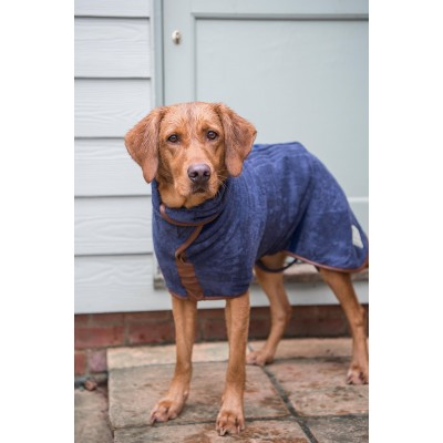 Ruff & Tumble Country Drying Coat in French Navy