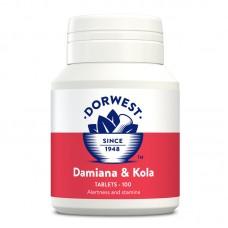 Dorwest Damiana and Kola tablets