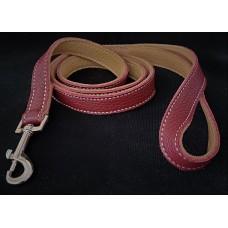 Brindle Leather Lead