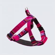 Hiro + Wolf Inca Pink Dog Harness